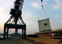 Information zu  dem Film und der Dokumentation des Container No Culture Projektes 2011 in Münster